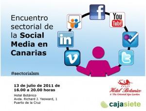 Encuentro sectorial social media en Canarias