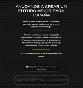 Keep Walking Project en Facebook