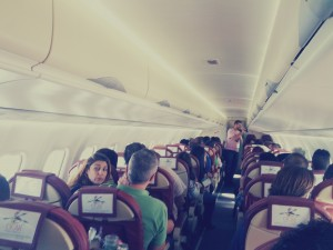 Binter Canarias Llena un avión de amigos