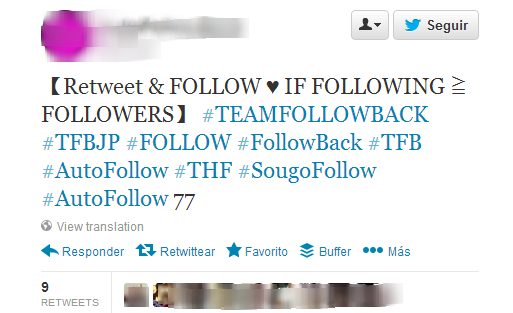 follow unfollow twitter